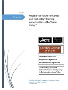 COVER FUTURE OF CTE TRAINING IN THE VERDE VALLEY