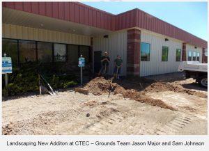 CTEC LANDSCAPING REPORT IN AUGUST 2016