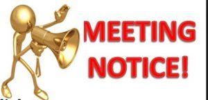 MEETING NOTICE 1