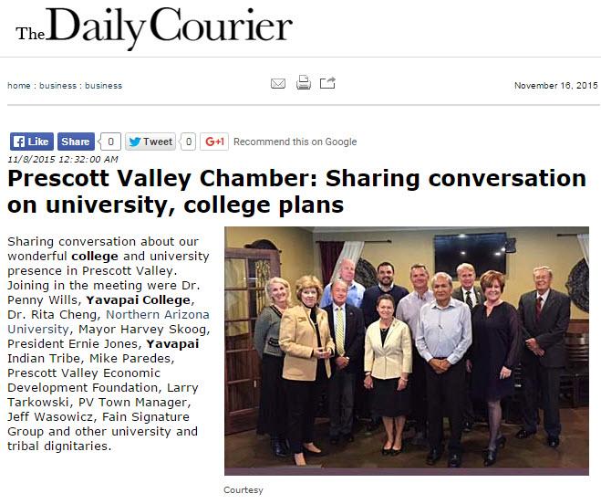 PRESCOTT VALLEY CHAMBER MEETING 2