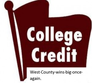 West County Wins Again