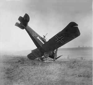 World War i plain crash